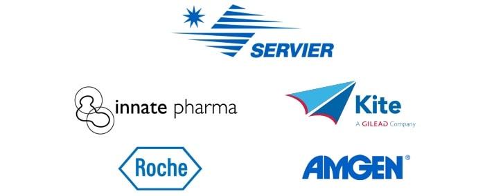 Server et Innate pharma, soutiens institutionnels - hematoalaune.fr